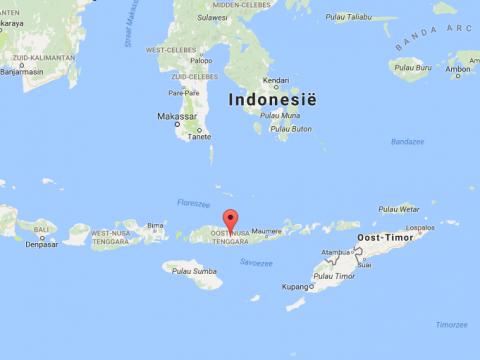 Zorg voor bejaarden op Flores, Indonesië