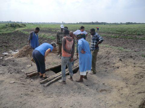 Vijf waterputten voor Sumve in Tanzania